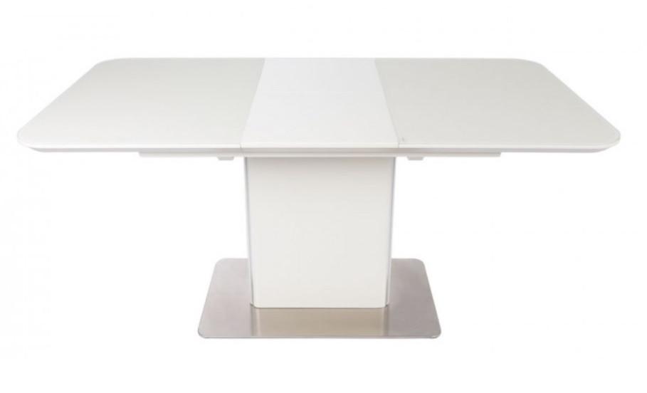 Раздвижной стол BARRIE (Барри) белый 120/160 от Niсolas