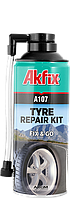 Спрей для ремонта шин Akfix A107 R60 300 мл, фото 1