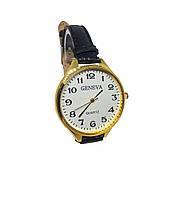 Часы женские кварцевые Geneva Gold Big белый опт
