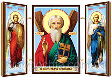 Святий апостол Андрій Первозванний. Ікона. Складення дерев'яний 58Х84