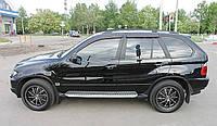 Дефлекторы окон (ветровики) BMW X5 2004-2006  (E53)