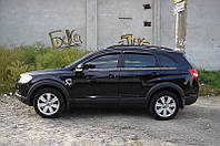 Дефлекторы окон (ветровики) Chevrolet CAPTIVA/Опл. Антара, 06-11. 4дв, темный