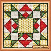 Наборы для вышивания крестом Квилт.Рождество АН-017