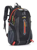 Городской спортивный (велорюкзак) рюкзак FLAME на 27 литров Черный, фото 1