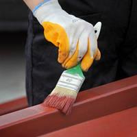 Очистка и покраска строительного оборудования