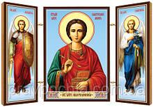 Святий великомученик і цілитель Пантелеімон. Ікона. Складення дерев'яний 58Х84