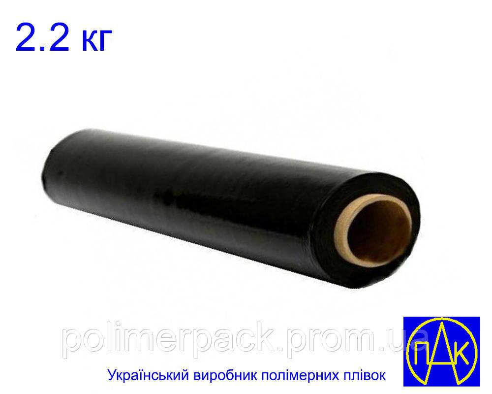Стрейч плівка для упаковки товару 20 мкм 2.2 кг Polimer PAK