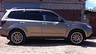 Дефлекторы окон (ветровики) Subaru Forester 2008-