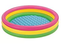 """Детский надувной бассейн Intex """"Радуга"""", 147 х 33 см"""