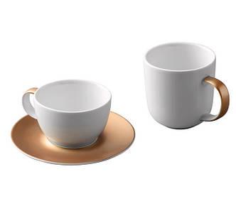 Набор для чая и кофе GEM, белый (1698005)
