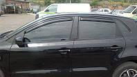 Дефлекторы окон (ветровики) Volkswagen POLO Hb V 2009-
