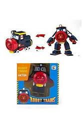 Трансформер  Роботы поезда, Виктор,  детская игрушка
