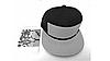 """Кепка-конструктор """"Super Man"""" с прямым козырьком с логотипом / бейсболки лего, фото 3"""