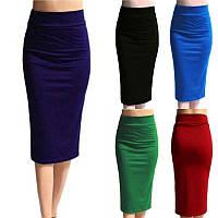 Женская юбка карандаш ниже колен