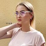 Имиджевые очки в прозрачной оправе с покрытием антиблик, фото 2