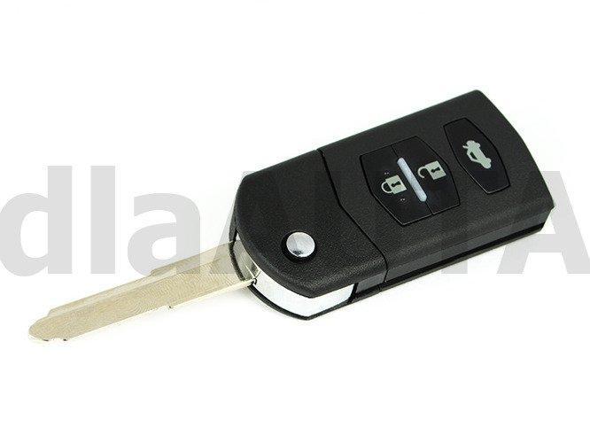 Корпус ключа Mazda 2 3 5 6 CX-7 RX-8 мазда 3кнопки