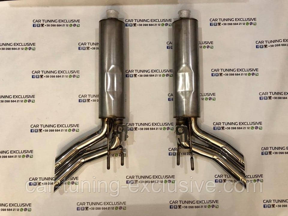 BRABUS exhaust system for Mercedes G-class