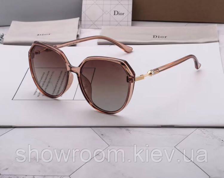 Женские солнцезащитные очки c поляризацией (8825) brown