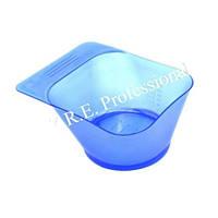 Миска для покраски квадратная голубая YB023
