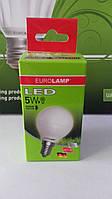 Лампа светодиодная энергосберегающая EUROLAMP LED G45 5W E14 4000K