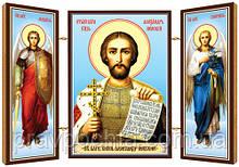 Святий благовірний великий князь Олександр Невський. Ікона. Складення дерев'яний 58Х84