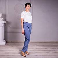 Укороченные женкие летние брюки.  Размеры 46 - 58