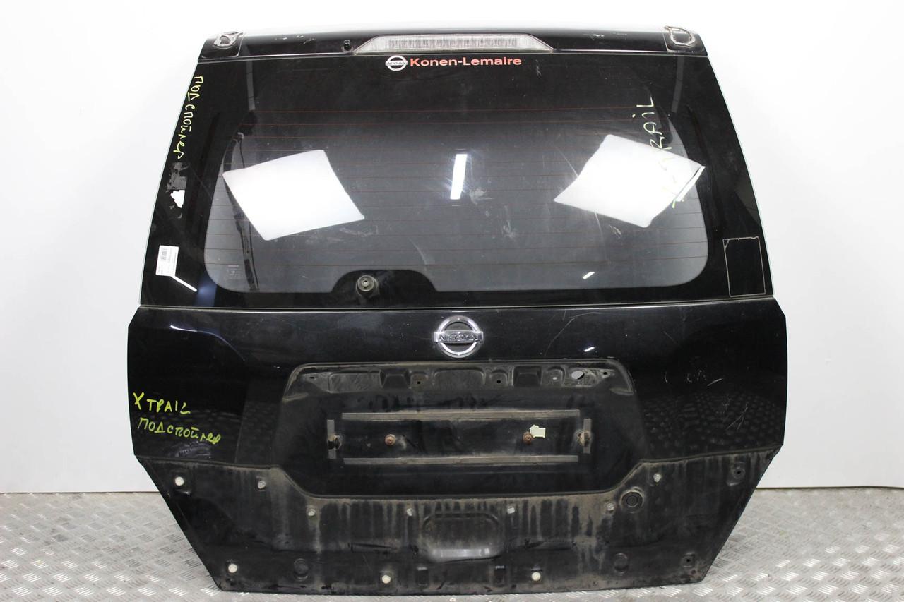 Крышка багажника под спойлер без накладки Nissan X-Trail (T31) 07-12 (Ниссан Х Трейл)  K010MJG4EA