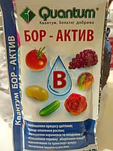 Хелатне добриво БорАктив Квантум для зав'язування плодів і розвитку рослин, 30 мл на 20 л води, Україна