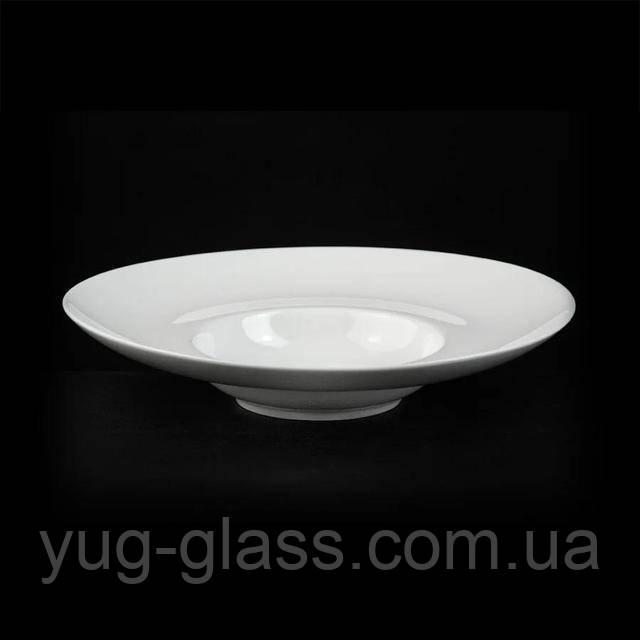 Тарелка для пасты с широкими полями