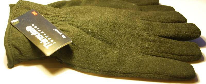 Перчатки флисовые MIL-TEC 3M Thinsulate 40 gramm, фото 2
