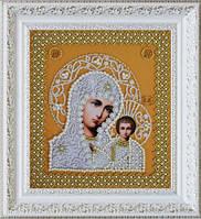 """Набор для вышивания бисером """"Казанская Икона Божией Матери. Венчальная пара (золото)"""""""