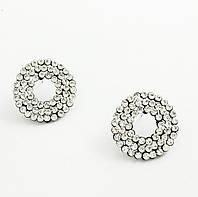 Серьги 0709 (диаметр 3 см)