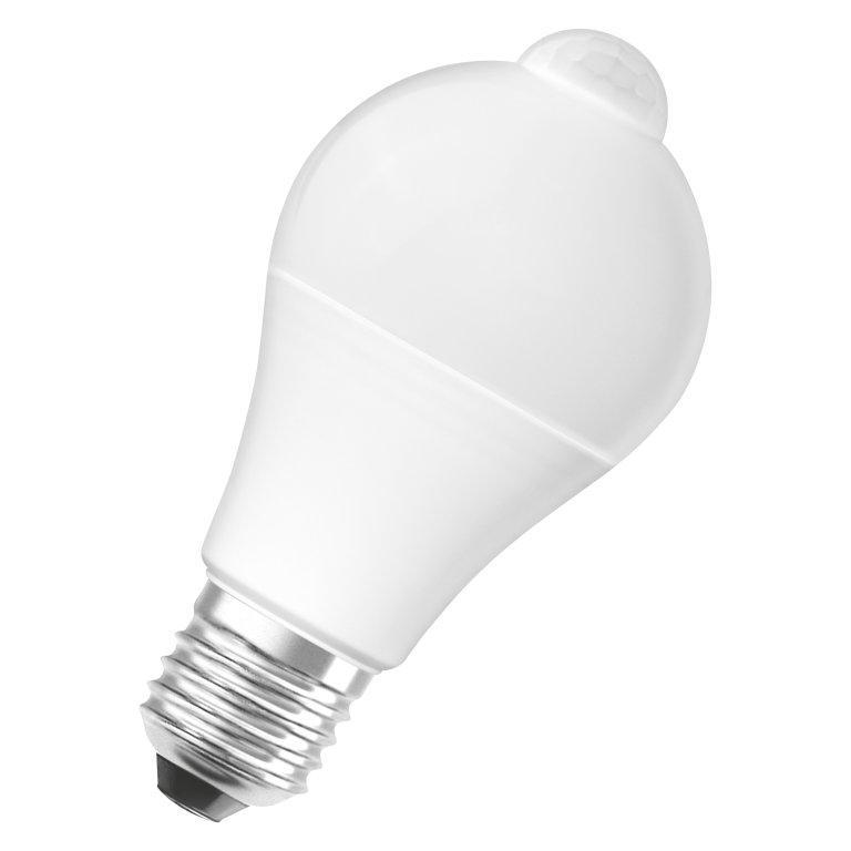 Лампа LED STAR CLASSIC A75 11.5W 2700К E27 1055 Lm OSRAM с датчиком движения
