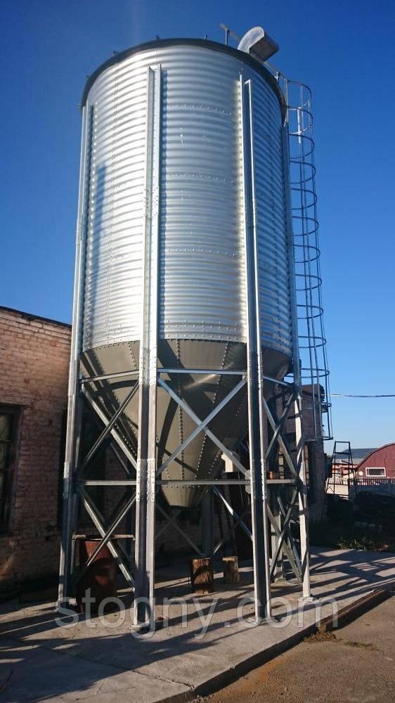 Силос зерновой на конусном днище СМБЦ 037550.000-03 СБ