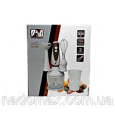 Ручной блендер со стаканом Promotec PM 586, фото 3