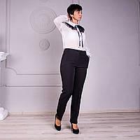 Укороченные женкие летние брюки.  Размеры 46 - 58, фото 1
