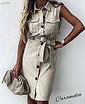 """Жіноча сукня """"Сафарі"""" від СтильноМодно, фото 6"""