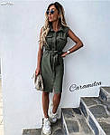 """Жіноча сукня """"Сафарі"""" від СтильноМодно, фото 4"""