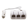 Автомобильный разветвитель тройник 3+2 USB 1506A / 1505A для прикуривателя, фото 2