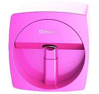 Принтер для ногтей, розовый O'2Nails Mobile Nail Printer V11