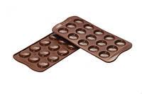 "Форма для шоколада ""Мacaron"" Ø 30 мм h 7 мм Silikomart"