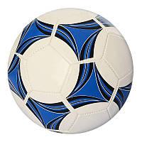Мяч футбольный EV 3215 размер 5, ПВХ 1,6мм, 2слоя, 32панели, 270-280г, 3 цвета
