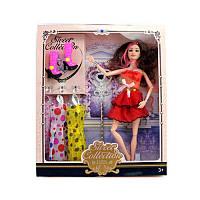 Кукла с нарядом 517B-2 платья, обувь, волшеб. палочка, микс вид, в кор. 28-32,5-5 см