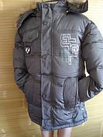 """Зимняя курточка для мальчика """"ELP"""" (130,140,150,160см)"""