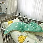 Комплект постельного белья детский Сатин Viluta комплект в детскую кроватку, фото 3