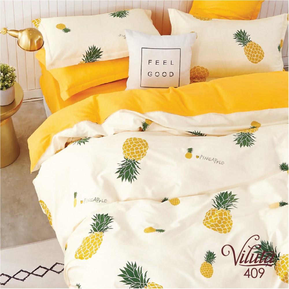 Комплект постельного белья подростковый сатин Viluta полуторный комплект