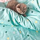 Комплект постельного белья подростковый сатин Viluta полуторный комплект, фото 4