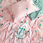 Комплект постельного белья подростковый сатин Viluta полуторный комплект, фото 6