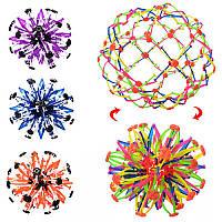 Мяч X13468 трансформер, 4 цвета, в кульке 13-13-13 см
