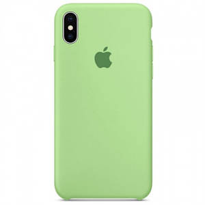 Silicone case Iphone X/XS Мятный